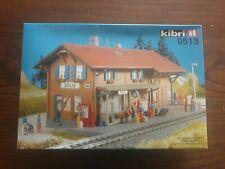 """Kibri 9513 stazione Ferroviaria H0  """"Solis"""" accessori plastico ferroviario"""