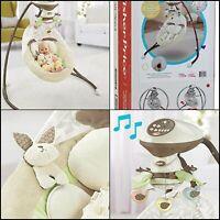 Fisher-Price My Little Snugabunny Cradle 'n Swing 6 speeds 16 songs Baby Toys