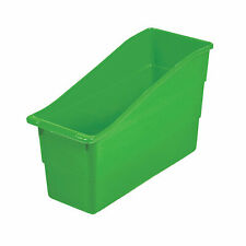 Lime Green Book Bins - Educational - 6 Pieces