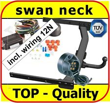 Towbar & Electrics 7pin 12N Ford Kuga 2008-2012 / swan neck Tow Bar
