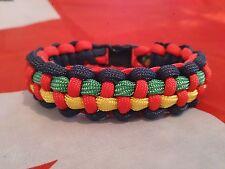 Les Royal Marines Help for Heroes Inspiré Handmade Paracord 550 Bracelet