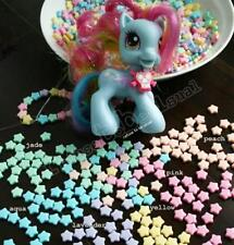 930 pcs Decora DIY Craft Assorted Pastel Candy Kawaii Star 10mm Beads Decoden