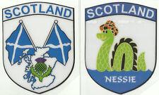 2er Set Schottland Schottische Flagge Interner Autofenster Aufkleber Aufkleber