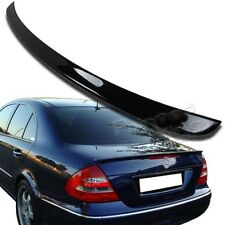 For Mercedes BENZ W211 E-class A Type Boot Trunk Spoiler 197 black Painted