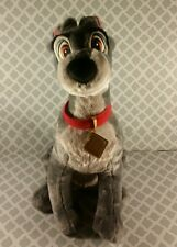 "Disney Store Tramp the Dog Plush from Lady and the Tramp 14"" Toy  p8"