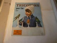 Revue tricot Laine : tricotons pour eux n° 70