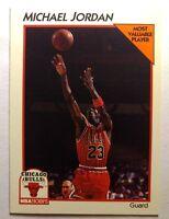 1991-92 NBA Hoops McDonald's Basketball #5 Michael Jordan, Rare, Chicago Bulls
