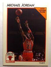 1991-92 NBA Hoops McDonald's Michael Jordan #5, Rare Chicago Bulls Insert