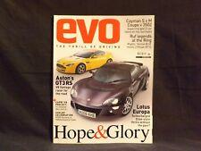 EVO MAGAZINE ISSUE 97 NOVEMBER 2006. LOTUS EUROPA. RUF YELLOW BIRD. CAYMAN S.