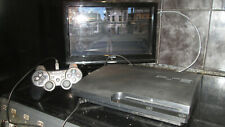 PS3 150GB SLIM CONSOLE WITH RED DEAD REDEMPTION ( DISC ONLY ) GOLD END HDMI