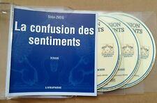 La confusion des sentiments - Stefan Zweig - livre audio 3 cds French audiobook