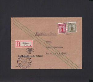 Deustches Reich Dienst Mi.Nr. 164 auf Brief selten Mi.-Wert 100 € (5629)