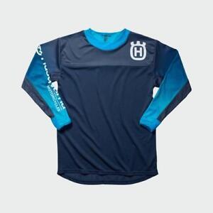 Husqvarna Gotland Shirt Blue Medium HTM