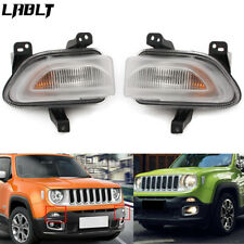 Front Left & Right Park Turn Signal Lamp Light Fit for 2015-2018 Jeep Renegade