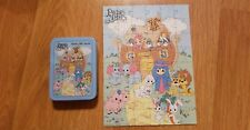 Vintage 1998 Precious Moments Noah's Ark Puzzle in Tin Complete