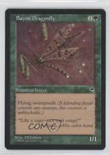 1997 Magic: The Gathering - Tempest Booster Pack Base #NoN Bayou Dragonfly 0a0