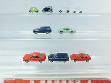 AV294-0,5# 9x Busch/IMU/Rietze H0 PKW: Opel Astra+Ford Mondeo+Smart+VW etc