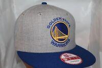 Golden State Warriors New Era NBA Heather Gray 9Fifty,Snapback,Cap,Hat   $ 34.99