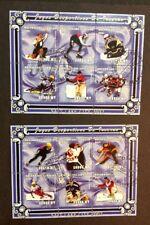 Mozambique 2001 Sc#1438-40 VF Souvenir Sheets Catalog $40