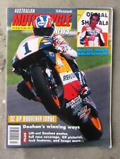 MOTORCYCLE NEWS AMCN Apr 1995 - NSR 500 GP DOOHAN SUPERBIKES 750 SUPERSPORT 600
