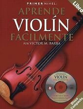 Primer Nivel: Aprende Violin Facilmente: (Spanish edition of Step One -ExLibrary