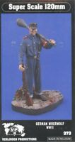 Verlinden Productions 120mm 1:16 WWII German Wherwolf Resin Figure #979