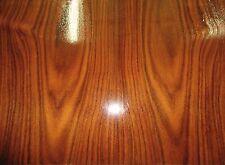 "Santos South American Rosewood wood veneer 17"" x 12"" (1/12th"" thick) all wood"