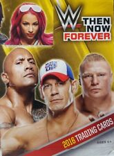 WWE 2016 THEN NOW FOREVER Shirt - Mat - Medallion Relic CARD Singles TOPPS