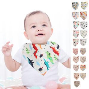 10 Stk Baby Lätzchen Dreieckstuch Halstuch Spucktücher Sabbertuch Latz
