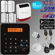 Lcd Inalámbrica Gsm automarca Casa Oficina seguridad ladrón intruso Rfid Alarma