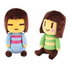 Undertale Plush Frisk & Chara Stuffed Toy Plush Toy Doll  gift for Kids 2pcs