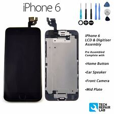 NEW iPhone 6 Retina LCD & Digitiser Touch Screen Full Assembly with Parts BLACK
