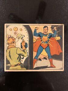 "🔥1940 Superman Gum Trading Card #12 ""Superman's Arch Enemy"" - Original 🔥"