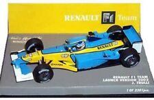 MINICHAMPS RENAULT F1 TEAM cars Jarno Trilli F ALONSO G FISICHELLA 2002-07 1:43
