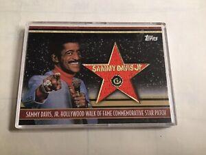 TOPPS AMERICAN PIE RELIC SAMMY DAVIS JR STAR PATCH /50