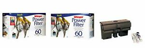 Tetra Whisper Power Filter for Aquariums, 3 Filters in 1 Up to 60-Gallons