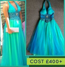 Stunning KASHIMA ladies Ball Gown/Evening/Prom Dress UK 10. Cost £400. Worn once