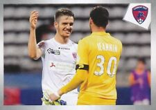 551 CLERMONT FOOT (ACTION) LIGUE 2  STICKER PANINI FOOT 2018