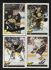 1993/94 Topps Premier GOLD Boston Bruins Team Set Of 24 Cards Parallel/Inserts
