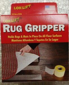 "Lok-Lift  Rug Gripper Rug Tape - 15' x 2.5"" Free Shipping"
