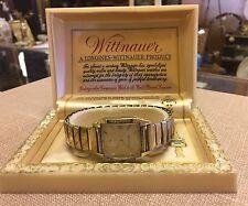 Longines Whittnaur Men's Gold Filled Wristwatch In Original Box! TLC