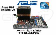 ASUS p6t Deluxe v2 scheda madre i7 x980 3,33 GHz ttc-nk85tz/cs2 RADIATORE 12gb di RAM