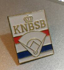 KNBSB - Koninklijke Nederlandse Baseball en Softball Bond pin badge