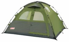 Coleman Instant Dome 3 Person Tent Waterproof 3 Berth Green
