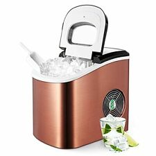 Portable Ice Maker Machine for Countertop, Ice Cubes Ready in 6 Mins, Make 26 lb