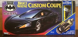 1991 Kenner Batman Returns Bruce Wayne Custom Coupe & Bruce Wayne 100% Complete