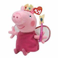 TY BEANIE BABIES BUDDY BUDDIES PRINCESS PEPPA PIG PLUSH SOFT TOY NEW WITH TAGS