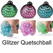 Glitzer Quetschball Knetball Knautschball Anti Stress Ball Netzball TOB 30236