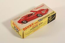 DINKY TOYS 204, Ferrari 312 P, only BOX #ab1946