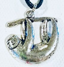 SLOTH NECKLACE Two toed Tree Animal Nature Wild
